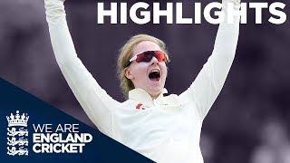England Women v Australia Women Kia Test | Day 1 | The Women's Ashes 2019