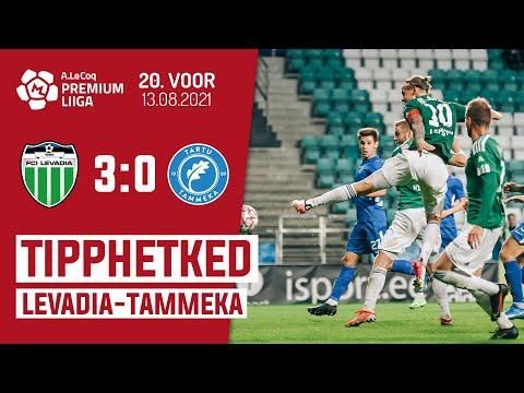 Levadia Tallinn Tammeka Tartu Goals And Highlights