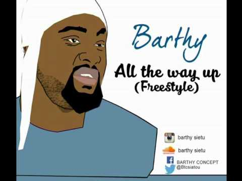 BARTY a.k.a BTC - All The Way Up  (Freestyle)