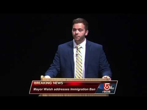 Boston Mayor Marty Walsh EXTENDED Press Conference