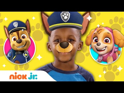 PAW Patrol Style Junior Dress Up W/ Marshall, Chase, Skye, Rubble,