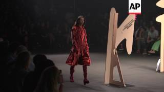 A Faux Fight Breaks Out At Opening Ceremony La Fashion Show