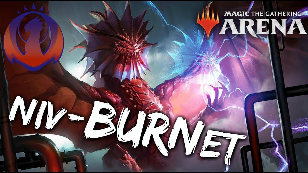 Niv-BURNit [MTG Arena] | Izzet Niv-Mizzet Burn Deck in GRN Standard