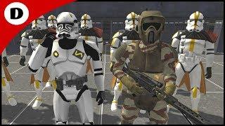 CLONE TROOPER PRISON ESCAPE! - Star Wars: Rico's Brigade S2:E12