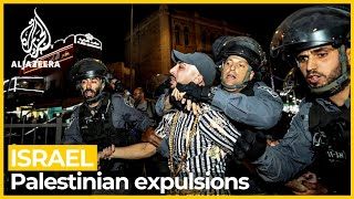 Israel Police spokesman defends forced Palestinian expulsions