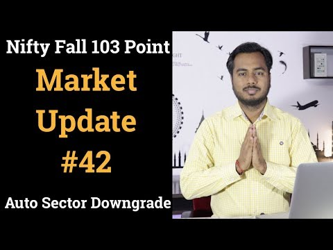 Market Update #42 Nifty Fall 103 point, Auto Sector Downgrade , Saudi Arabia says to cut oil output