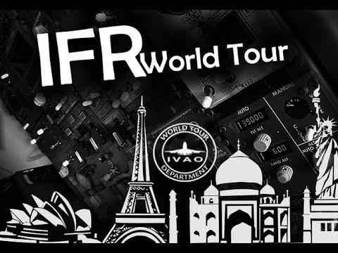 P3D V4) Palermo(LICJ) - Athens(LGAV)  IVAO IFR WORLD TOUR