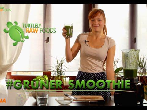 Turtlely Raw Foods - Grüner Smoothie - Salat im Trunk - pure Energie