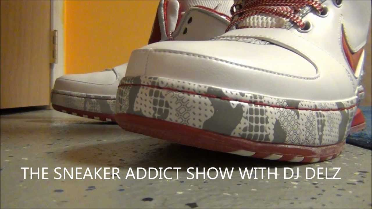 164807157fda Nike Lebron 6 VI Ohio State Home 3M Sneaker Review + On Feet  DjDelz ...