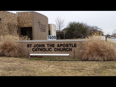 Inspire Aerial view of St John the Apostle Catholic Church
