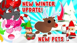 BRAND NEW CHRISTMAS UPĎATE In Adopt Me! (Roblox)