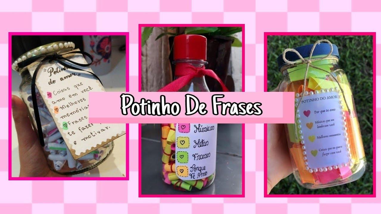 Frase De Amor Para Amiga: Como Fazer Pote De Frases Ou Motivos