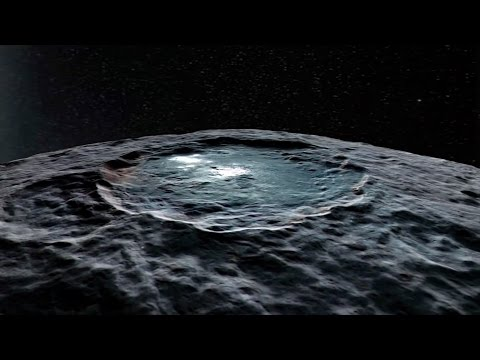 Flying Over the Dwarf Planet Ceres | Video