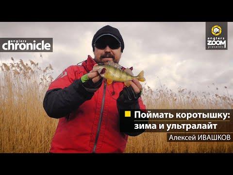 Поймать коротышку: зима и ультралайт. Алексей Ивашков
