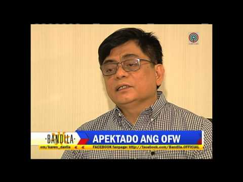 Bandila: OFWs in oil-dependent countries in danger of losing jobs
