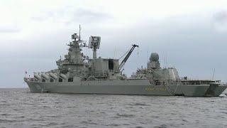 В Финский залив прибыл отряд кораблей Северного флота для участия в грандиозном параде.