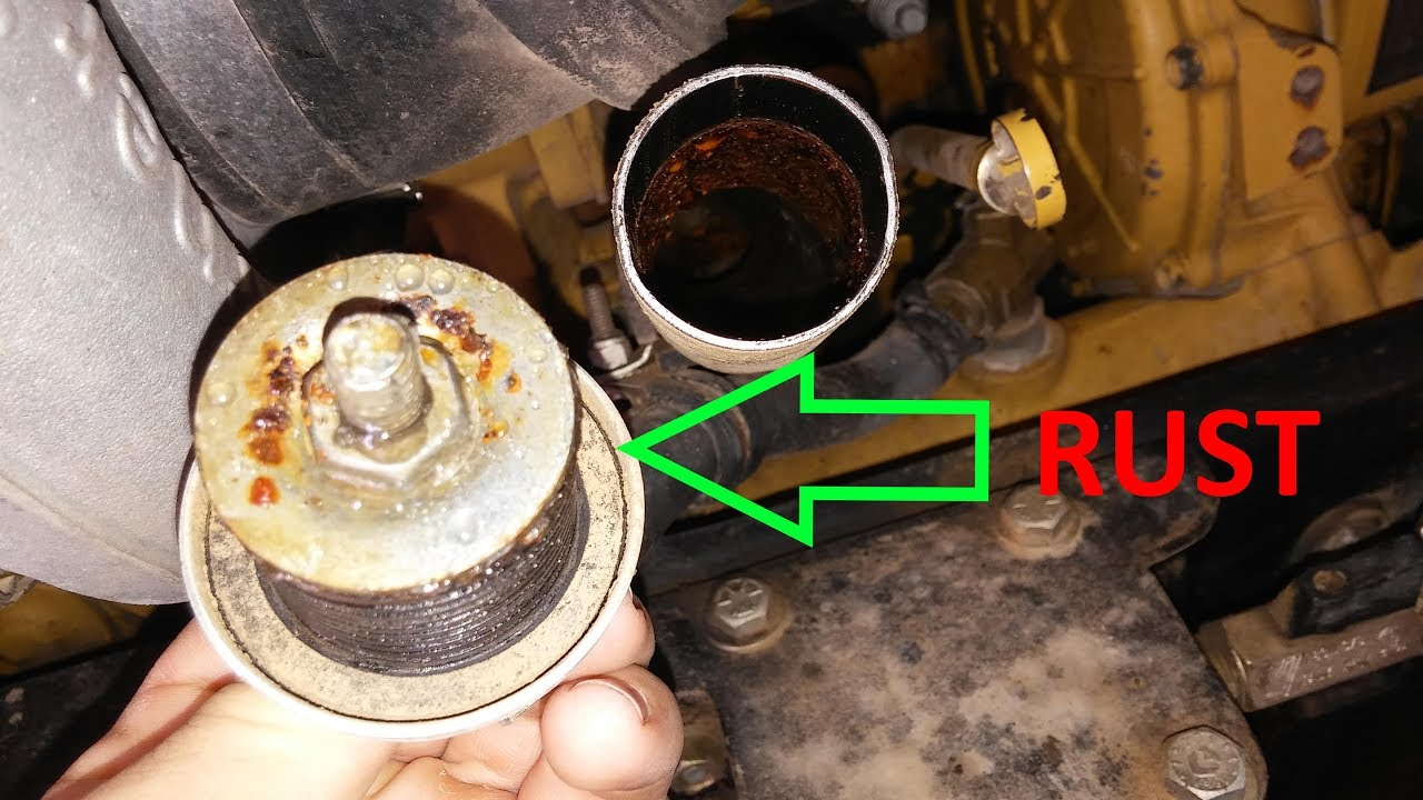 what causes coolant in the oil antifreeze in the oil coolant in the engine crankcase  [ 1280 x 720 Pixel ]