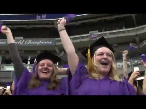 2016 NYU Commencement Highlights Reel