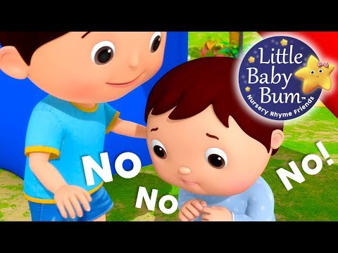 No No No! Playground   Nursery Rhymes   Original Songs By LittleBabyBum!