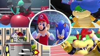Mario and Sonic at the Olympic Games Tokyo 2020 - All Bosses