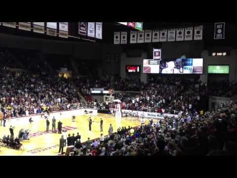 Marcus Camby Jersey Retired at UMass
