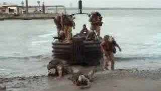 funny army boat