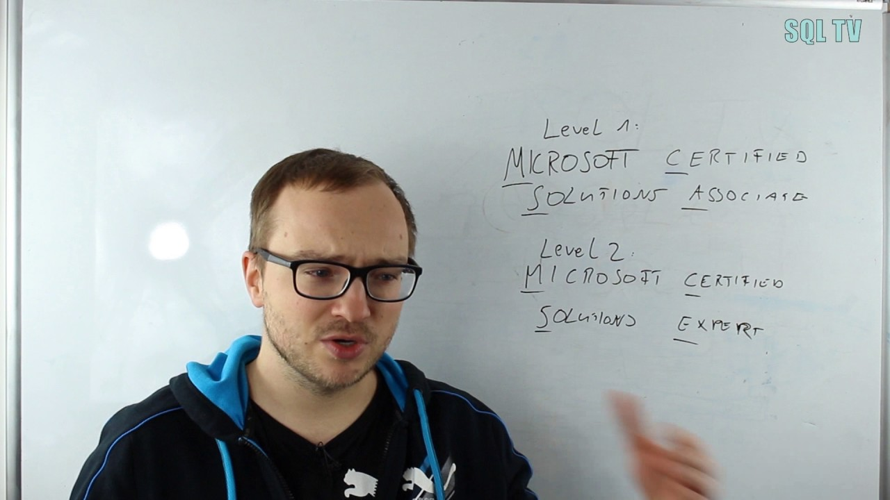 Real Talk Microsoft Sql Server Certification Mcsemcsa Youtube