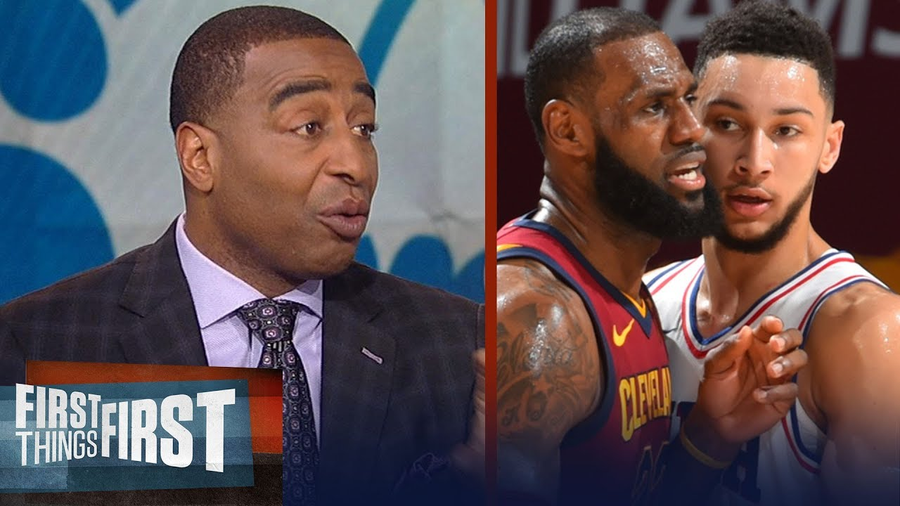 Cris Carter on how Bryan Colangelo's exit affects LeBron going to 76ers | NBA | FIRST THINGS FIRST