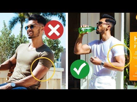 7 Style Tricks TO Make Skinny Guys Look Bigger