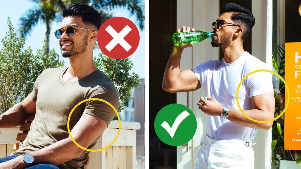 Tips for skinny guys to look good