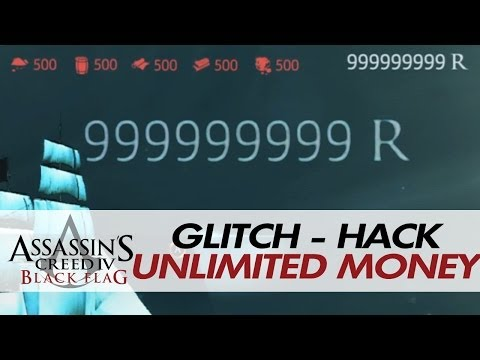 Assassin's Creed IV: Black Flag - Infinite / Unlimited Money + Materials [Cheat/Hack]