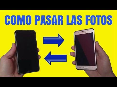 Como pasar FOTOS y archivos de un celular a otro