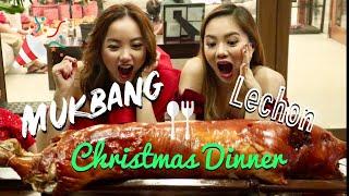 MUKBANG: Christmas Dinner - (Butuan Lechon + Kinilaw)