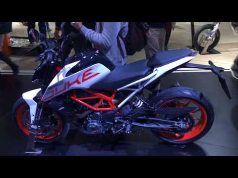 2017 KTM 390 Duke first look from EICMA 2016
