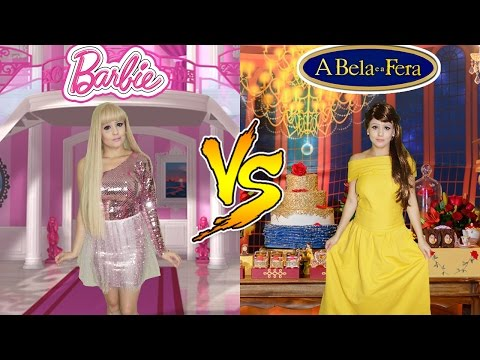 BARBIE VS BELA (A BELA E A FERA)