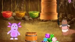 Обучающийй мультфильм для детей Лунтик:Красивые камни. Развивающий мультфильм для детей.