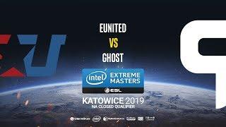 eUnited vs Ghost - IEM Katowice NA Minor QA - map2 - de_mirage [SleepSomeWhile]