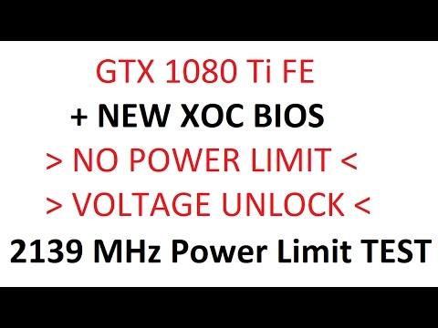 GTX 1080 Ti - New XOC BIOS NO POWER / VOLTAGE LIMIT 2139 MHz TEST