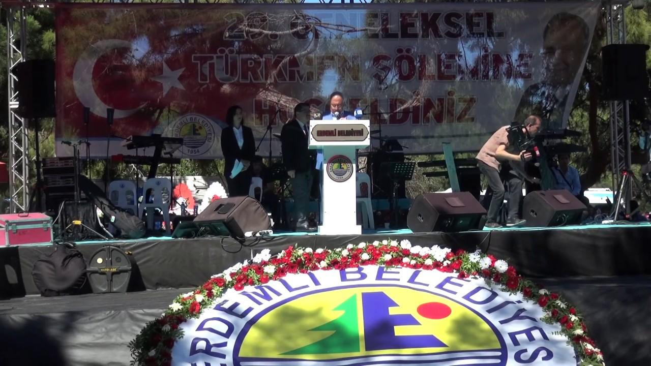 Erdemli'de Türkmen Şöleni Coşkusu