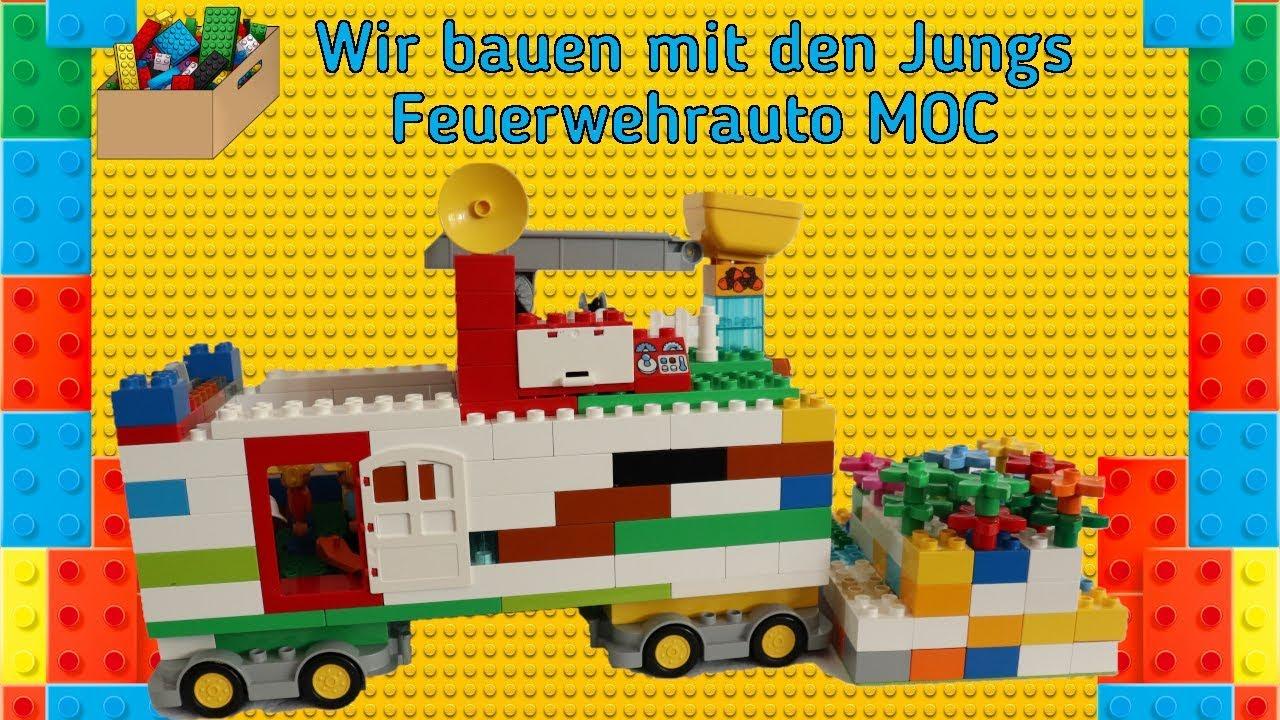 Wir Bauen Mit Den Jungs Lego Duplo Feuerwehrauto Moc