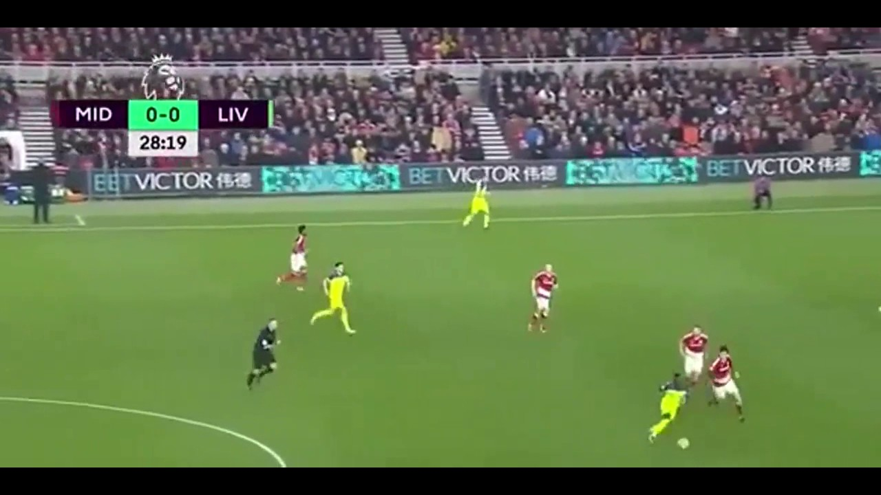 Download Middlesbrough vs Liverpool 0-3 – All Goals & Highlights ~ 14/12/2016 HD