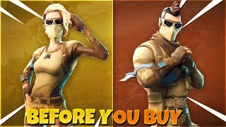 Scorpion l Armadillo *NEW* Skins Before You Buy Fortnite