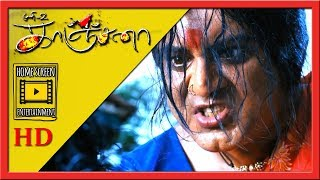 The ghost gets trapped | Kanchana Movie Scenes | Ghost reveals her story | Sarathkumar as Kanchana