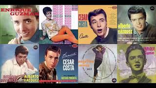 Recordando a Enrique Guzman, Angelica Maria, Cesar Costa, Alberto Vazquez: 4 Grandes Del Rock