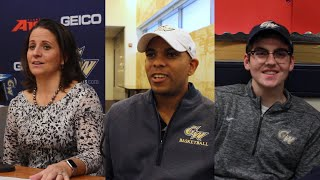 Basketball coaches, George's Army president talk basketball attendance