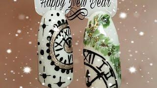 РИСУЕМ НОВОГОДНИЕ ЧАСЫ🎄ДИЗАЙН НОГТЕЙ🌲NAIL ART🎄CLOCK(Привет всем. В этом видео я покажу как рисовать часы новогодние на ногтя. Если понравилось видео ставьте..., 2016-12-02T20:52:31.000Z)