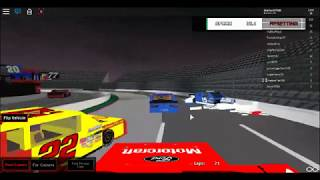 my first win at nascar roblox (martinsville)