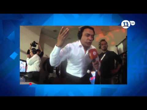 Claudio Palma y Aldo Schiappacasse desatados con Chile Campeón