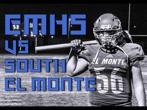 El Monte Lions Vs South El Monte 10/26/18