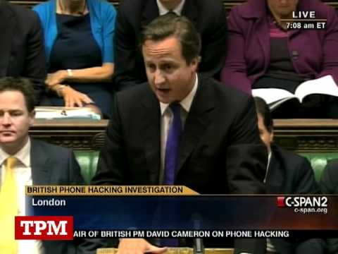 David Cameron Gets Grilled Over News Corp In Parliament